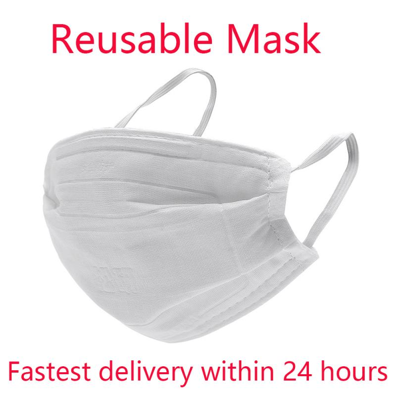 Cotton Reusable Mask For Kids Adult Face Mouth Mask Proteccion Respirator PM2.5 Filter Anti Dust Washable Disposable Masks