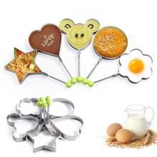 Аксессуары для кухни: Кольца блинов и жареных яиц нержавеющая
