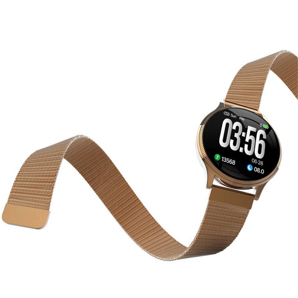 Nieuwe MK08 Smart Horloge Mannen IP67 Waterdichte Bloeddruk Smartwatch Hartslagmeter sport Polsband Vrouwen Voor Android IOS