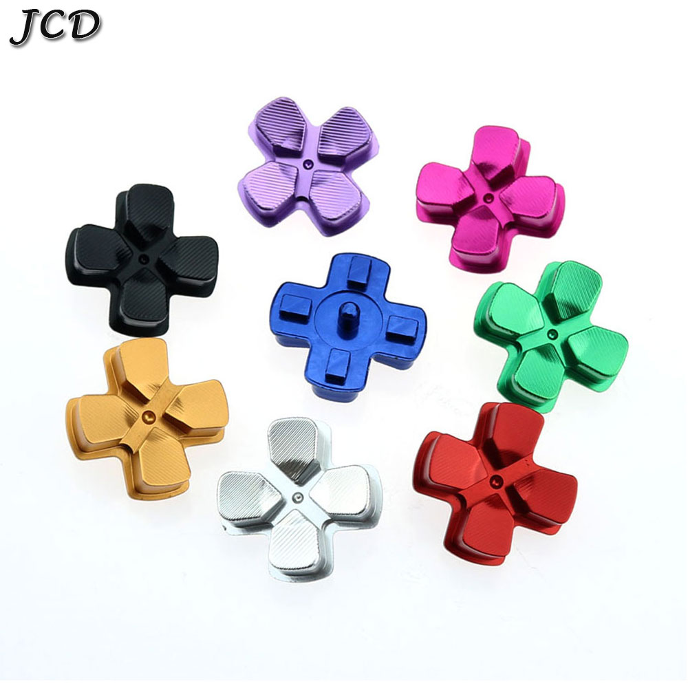 JCD Metal D-pad Action Button Cross Dpad Direction Key Repair Replacement For Playstation Dualshock 4 PS4 DS4 Gamepad Controller