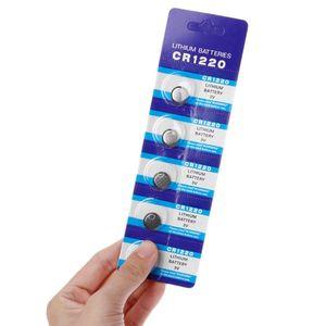 Image 1 - 25 pièces pile bouton CR1220 Lithium pile bouton 1.55V DL1220 BR1220 LM1220 CR 1220 montre électronique jouet à distance J6PB