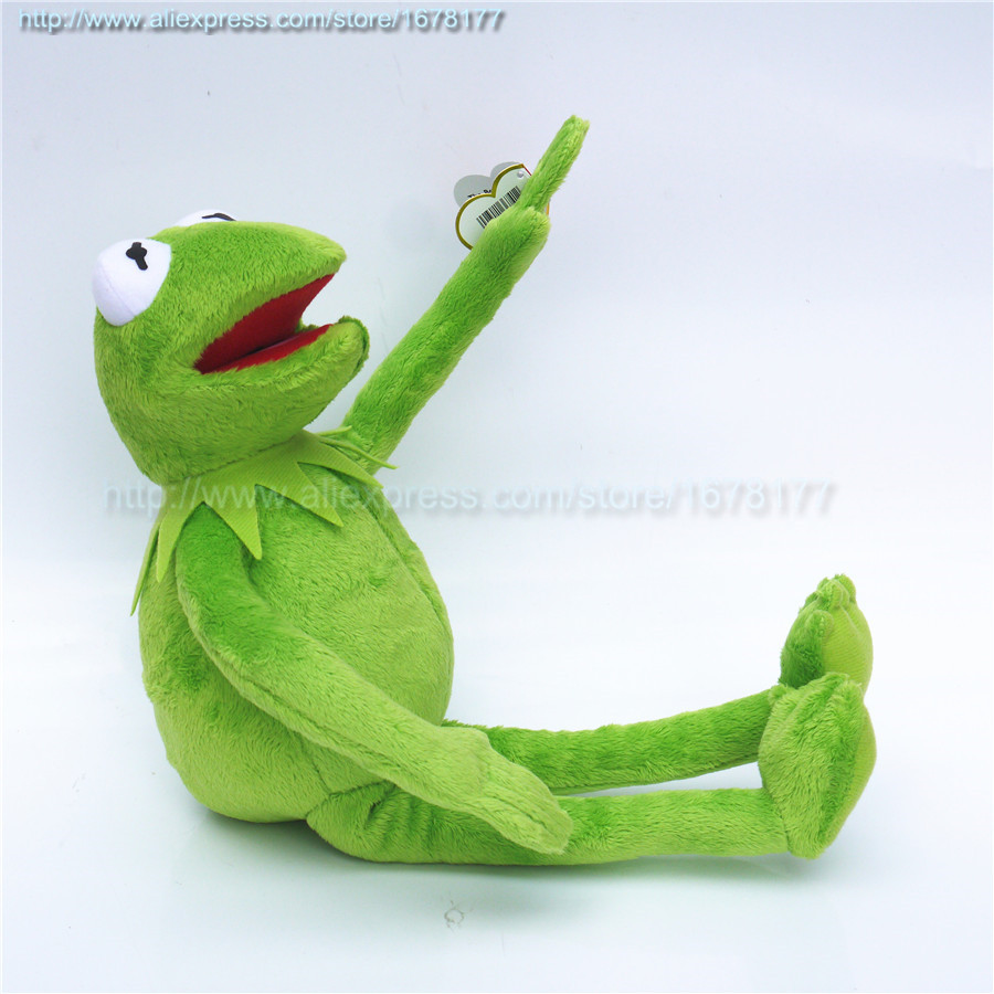 Kermit The Frog The Muppet Show Rana Peluche Kermit Plush Toys Sesame Street Doll Muppets Kermit Frog Plush Frog Include Wire