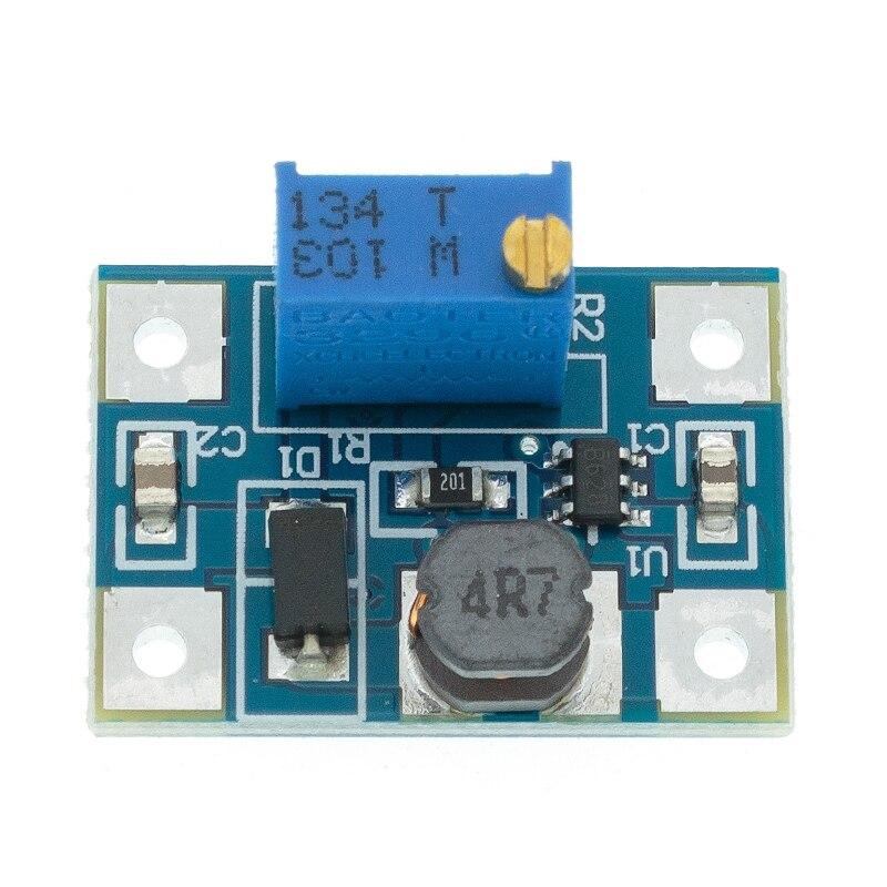 1 шт. умная электроника DC-DC SX1308 повышающий Регулируемый силовой модуль Step UP повышающий преобразователь постоянного тока 2-24V постоянного ток...