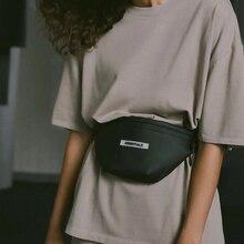 الكلاسيكية حزمة مراوح سليم لينة جلدية مقاومة للماء الخصر حقيبة عادية بسيطة حقيبة بحزام للجنسين حزمة للخارجية تجريب السفر