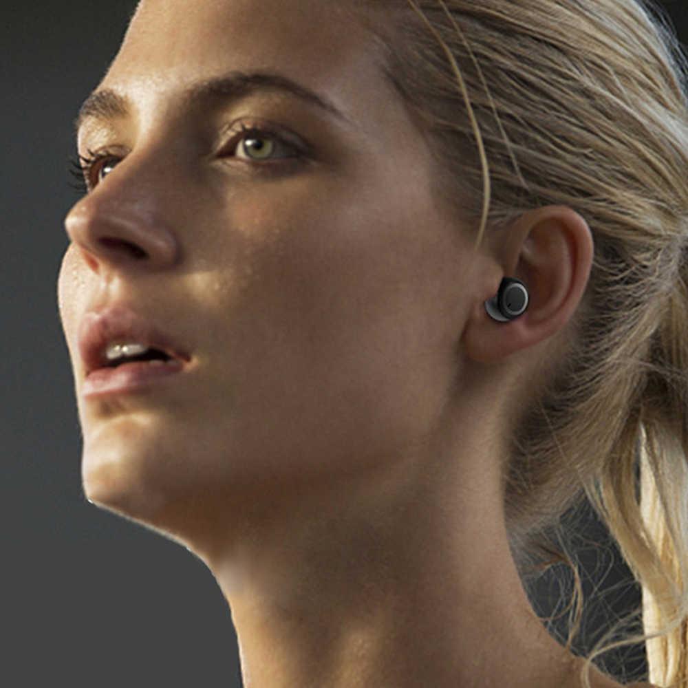 Auricular inalámbrico Bluetooth 5,0, caja de controlador de carga táctil multifunción para teléfono móvil IOS Android