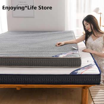 Thickness 6cm Latex Mattress Folding Mattress Memory Cotton For Queen/King /Twin/Full Size Bed Breathe Foam Tatami Mattress