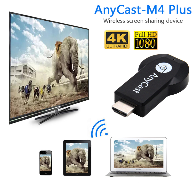 Cast Anycast M4 Plus Hdmi Wifi Display For Chromecast Mirroring Multiple TV Stick Adapter Mini For Chrome Cast Dongle