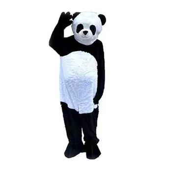Ohlees panda mascot costume picture is example only,do custom according to customer design