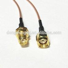 WIFI antenna adapter SMA female to RP SMA male plug RF coax cable RG178 15cm (4) цена и фото