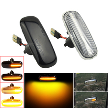 Dynamic Led Side Marker Turn Signal Repeater Light for Audi A3 S3 8L 2000 2003 A8 D2 1999 2002 TT 8N 2000 2006