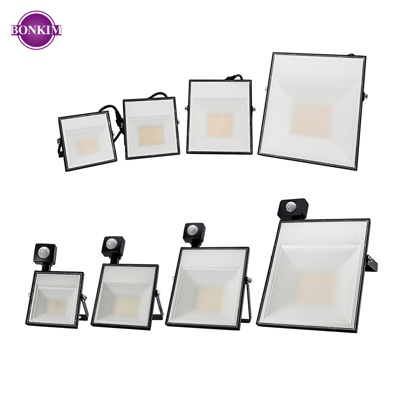<font><b>LED</b></font> Motion Sensor Flood Light 15W 30W 45W <font><b>60W</b></font> Cold White PIR <font><b>Floodlight</b></font> Induction Sense Reflector <font><b>LED</b></font> Light Outdoor Spotlight image