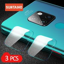 Suntaiho 3PCS Camera Lens Tempered Glass for P30 Protective Screen Protector for Huawei P20 pro Mate10 lite honor 9i/9N film(China)