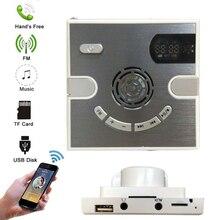Bluetooth Speaker Music-Player Fm-Radio Wall Support Mini Wireless JINSERTA Ac with Tf-Card