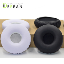 Defean Replacement Black White earpad Ear pads Cushion Ear Cup for SONY DR BTN200 BTN200 BTN 200 Headphone