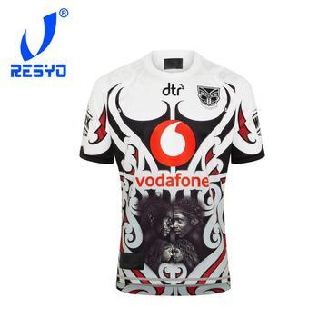 RESYO dla 2020 Vodafone Warriors rdzenna koszulka Rugby sportowa koszula S-5XL tanie i dobre opinie NoEnName_Null Krótki Poliester Koszulki 2020 Warriors Pasuje prawda na wymiar weź swój normalny rozmiar
