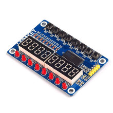 TM1638 Module Key Display For AVR Arduino New 8-Bit Digital LED Tube 8-Bit