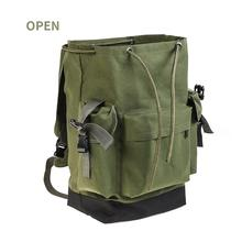 70L Army Green Fishing Gear Bag Large Capacity Outdoor Backp