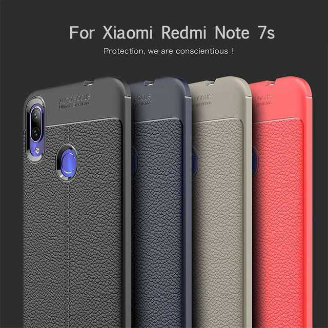 Mokoemi Lichee Pattern Shock Proof Soft 6 3 For Xiaomi Redmi Note 7s Case For