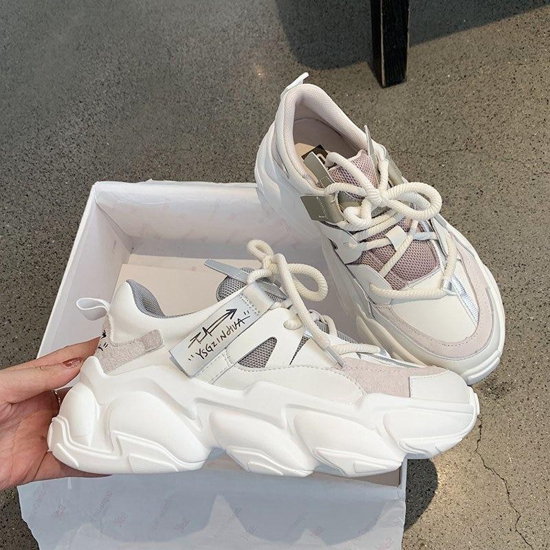 2020 Autumn Women Platform Sneakers