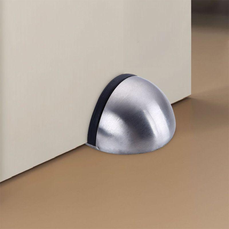 Door Stops 304 Stainless Steel Door Stopper Hidden Door Holders Catch Floor 19QB