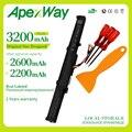 Аккумулятор Apexway 3200 мАч 14 8 в  Аккумулятор для ноутбука asus A41-X550E X450 X550V X450E A450V F450E F450JF F450C A450J X450J Series X751L X751M