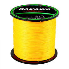 BAKAWA Braid Fishing line 8 Strands 100/150/200/300/500M multicolor strong Wire Durable Saltwater Freshwater Japan Multifilament