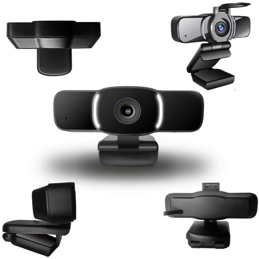 toolcome 1080P USB Webcam HD Cover Gaming Computer Web Camera