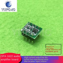 Free Ship 2pcs OPA1622 Audio Op Amplifier Board DIP8-Voltage and High-Current Output Low Distortion shuang yun fang