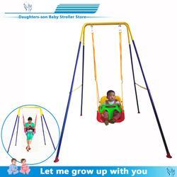Детские качели с детским артефактом, детский прыгающий стул, детский прыгающий стул, фитнес-рамка, качели, гамак для помещения, игрушка бесп...