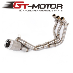Motorcycle Exhaust Muffler with Full System pipe FOR YAMAHA FZ-09 MT-09 FZ 09 MT 09 2014-2016 2017 2018(not for Tracer)