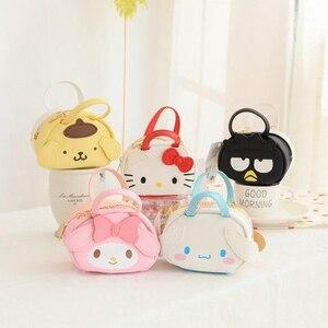 Мультяшный кошелек Hello Kitty My Melody, Cinnamoroll pompurin badbetz-maru, сумка, кошелек, сумки для женщин, кошелек для девочек