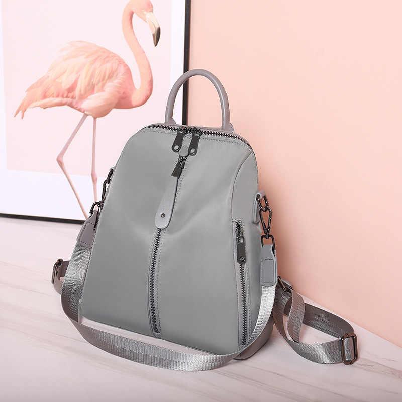 女性レザーバックパック高品質リュックサック女の子固体旅行高級デザイナー Bagpack 女性嚢 A ドス女性のパック C1246