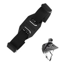 Go Pro Accessories Vented Adjustable Helmet Strap Head Belt Mount Holder Adapter for Gopro7 6 5 4 3 DJI OSMO Action Sj8 Sj9 H9R