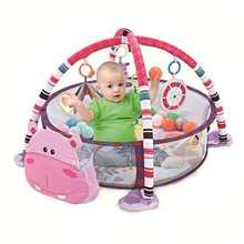 Foldable Infant Ball Pits Ball Pool Diameter Ocean Ball Playpen Toy Washable Folding Fence Kids Birthday Gift Fun Toy 90x70x50cm