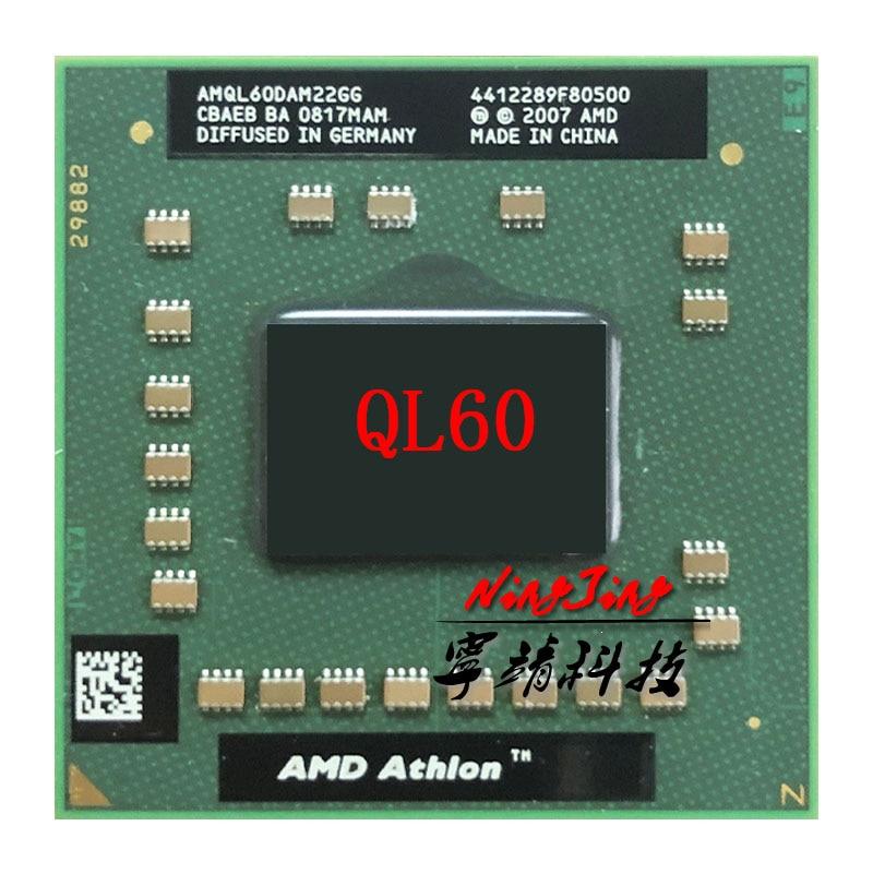 Amd Athlon 64 X2 Ql 60 Ql 60 Ql60 1 9 Ghz Dual Core Dual Thread Cpu Processor Amql60dam22gg Socket S1 Cpus Aliexpress