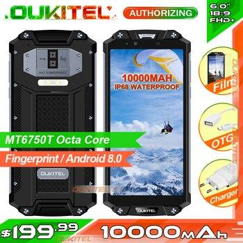 OUKITEL WP2 IP68 Waterproof NFC Smartphone 6.0