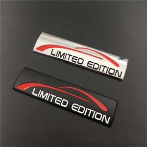 Image 5 - Для LADA Cadillac Chevrolet Dodge Caliber RAM Journey Personality 3D Металлическая Автомобильная наклейка хромированная Ограниченная серия эмблема значок наклейка