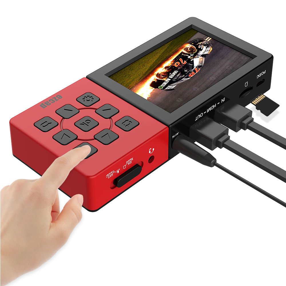 Ezcap273A HDMI Game Capture 1080P60fps  Into Micro SD Card Direct With Clear 3.5