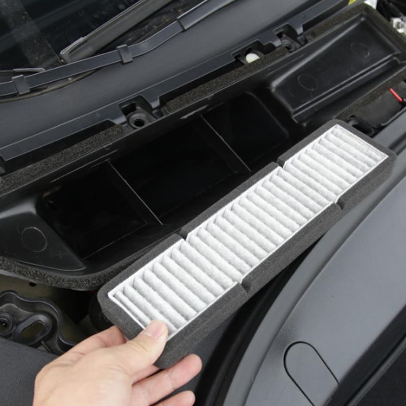 Reemplazo del filtro de entrada de aire acondicionado 1 unids/set para el modelo 3 de Tesla fácil de instalar