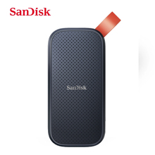 SanDisk Extreme Portable SSD 520MB/s External Hard Drive USB 3.1 Type-C 480GB 1TB 2TB Solid State Disk For Laptop Desktop