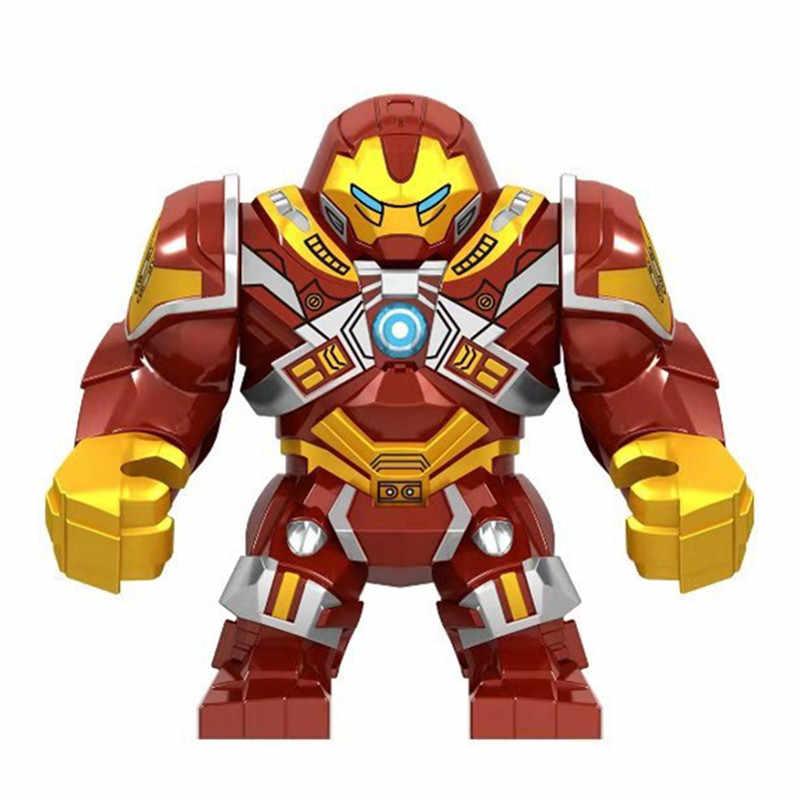 Marvel Avengers Endgame Super Heroes Iron Man War Machine Buster Mech Armor Figures Building Blocks Bricks  Assemble Xmas Toys