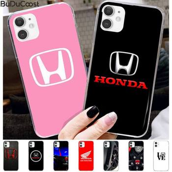 Car brand Honda luxury Phone Case for iPhone 11 pro XS MAX 8 7 6 6S Plus X 5 5S SE XR case image