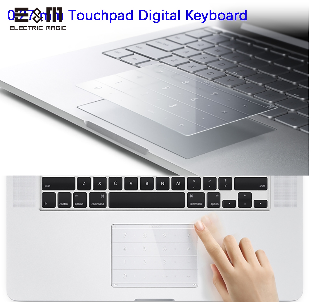 Image 3 - Ultra Thin Wireless Intelligent Digital Touch Keyboard TouchPad for Laptop 2016 2017 2018 2019 Macbook Pro 13 Inch Notebook-in Integrated Circuits from Electronic Components & Supplies