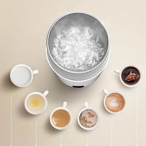 Image 5 - Deerma Portable Electric Cup Travel Hot Wtater Heating Cup 350ml Milk Travel Boilers Mugs Thermal Cups Tea Coffee Heater