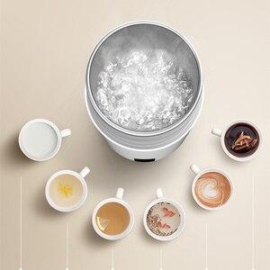 Image 5 - Deerma المحمولة الكهربائية كوب السفر الساخن wtter كوب التدفئة 350 مللي الحليب السفر المراجل أكواب الحرارية أكواب الشاي القهوة سخان