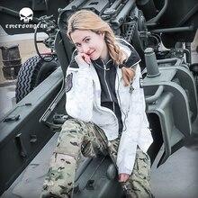Emersongear Taktische Warme Jacke Frauen Herren Mit Kapuze Jagd Taktische Mantel S Serie Casual Paar Outdoor MC Jagd Jacken