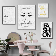 Abstract Marble Wall Art Canvas Painting Quotes Posters And Prtins Poster Fashion Paintings Picture