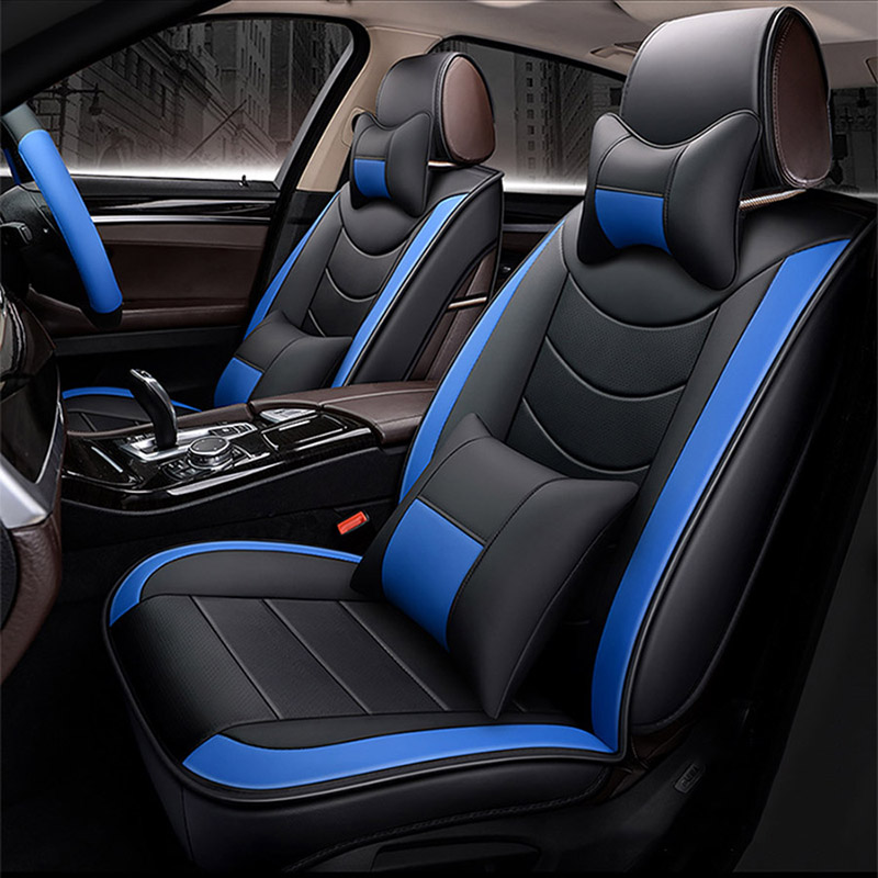 Flash mat Leather Car Seat Covers for BORGWARD BX5 BX7 For BISU T3 T5 M3 car accessories styling Sport seat covers