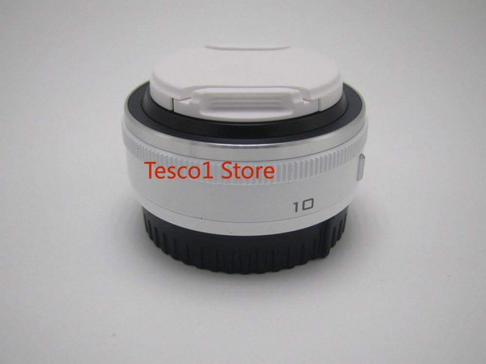 Pour Nikon 1 NIKKOR 10mm F/2.8 Lentille Blanc Original Pour J1 J2 J3 J4 J5 V1 V2 V3 S1 S2 pièces de Rechange D'appareil Photo