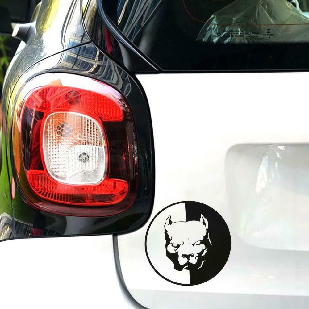 1Pcs  3D Pitbull Dog Car Stickers Waterproof Funny Decal Car-covers Motorcycle Auto Sticker Car Accessories